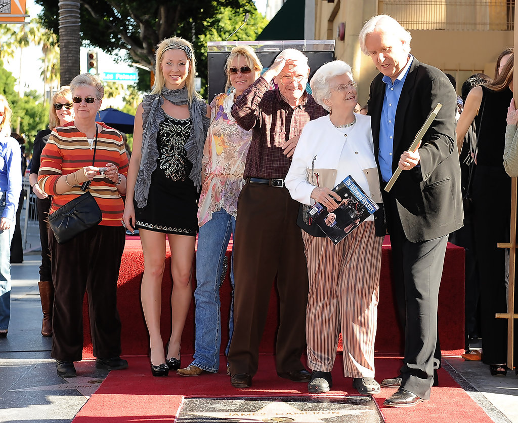 James Cameron Honored On The Hollywood Walk Of Fame - Zimbio