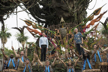 James Cameron 'Pandora: World of Avatar' Dedication Ceremony