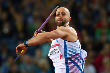 James Campbell 20th Commonwealth Games: Athletics