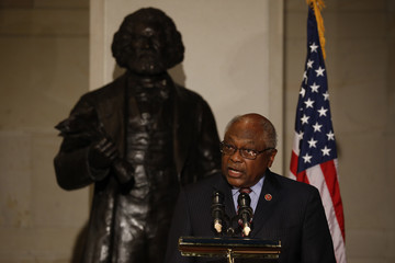 James Clyburn Frederick Douglass's Birthday Is Honored on Capitol Hill