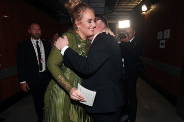 James Corden The 59th GRAMMY Awards -  Backstage