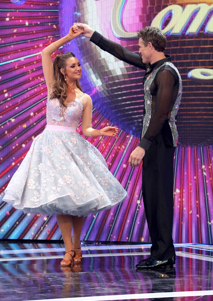 'Strictly Come Dancing' Launch Show - Red Carpet Arrivals [strictly come dancing,launch show,entertainment,performance,performing arts,dance,event,dancer,fashion,performance art,fun,stage,red carpet arrivals,james cracknell,catherine tyldesley,stage,england,london,television centre,launch show]