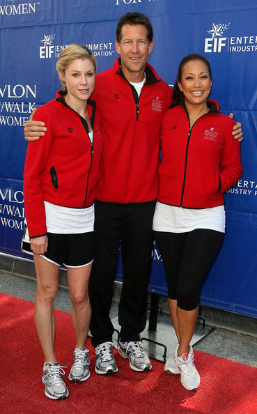 James Denton and Julie Bowen Photos - 17th Annual EIF Revlon Run/Walk ...
