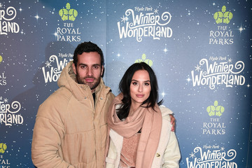 James Dunmore Winter Wonderland VIP Launch - Red Carpet Arrivals