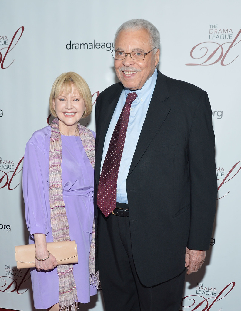 James Earl Jones and Cecilia Hart - 78th Annual Drama League Awards Ceremony And Luncheon