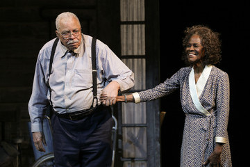 James Earl Jones 'The Gin Game' Broadway Opening Night - Arrivals & Curtain Call