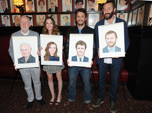'Meant to Be' Book Launch Party [meant to be: the lives and loves of a jersey girl,social group,event,team,art,actors,james franco,leighton meester,chris odowd,jim norton,l-r,sardi,book launch party,book launch party]