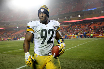 James Harrison Divisional Round - Pittsburgh Steelers v Kansas City Chiefs