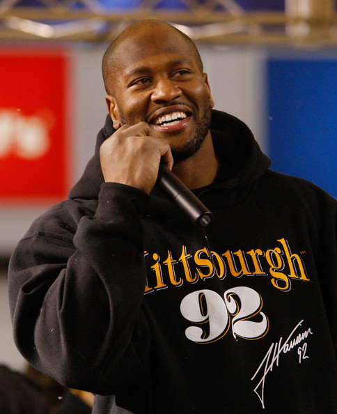 James Harrison Pictures - Pittsburgh Steelers Host Super ...