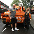 James Haskell #GiveUsALift In London, England