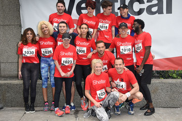 James Hill Celebrities Take Part In The Shelter: Vertical Rush