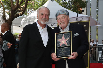 James Keach Stacy Keach Honored With A Star On The Hollywood Walk Of Fame