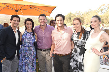 James Marsden Sixth-Annual Veuve Clicquot Polo Classic, Los Angeles - Inside