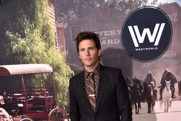 James Marsden Premiere of HBO's 'Westworld' - Red Carpet