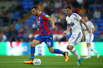 James McArthur Crystal Palace v Ipswich Town - Carabao Cup Second Round