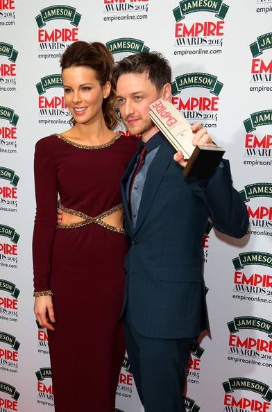 James Mcavoy 2014 Wife Jameson Empire Awards 2014