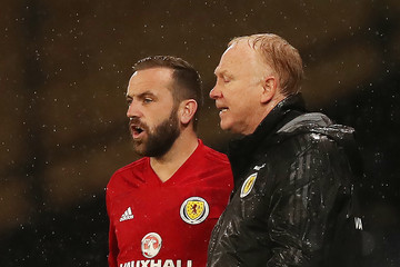 James McFadden Scotland vs. Albania - UEFA Nations League C