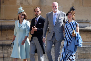 James Middleton Prince Harry Marries Ms. Meghan Markle - Windsor Castle