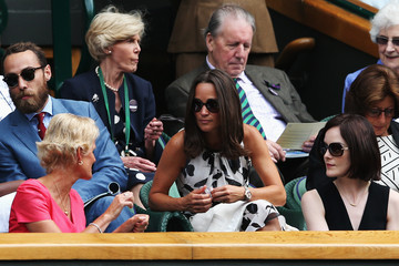 James Middleton Wimbledon: Day 4