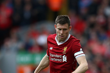 James Milner Liverpool v Middlesbrough - Premier League