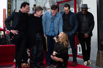 James Parks Quentin Tarantino Honored With Star on the Hollywood Walk of Fame