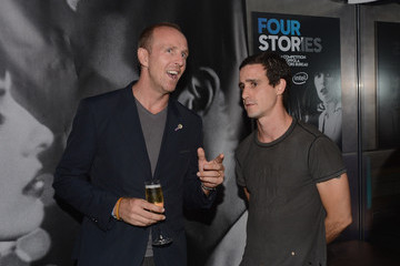 James Ransone Vincent Gillet Roman Coppola, W Hotels + Intel Launch Innovative Film Series, Four Stories, At W New York - Downtown