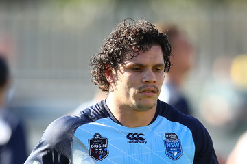James Roberts New South Wales Blues Training And Media Session