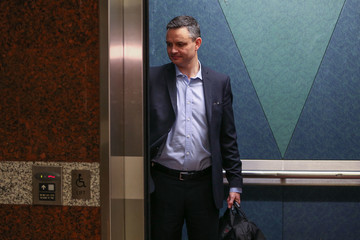 James Shaw MPs Gather In Wellington As Nation Awaits NZ First Decision