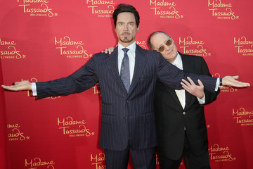"James Spader Madame Tussauds Hollywood Bring Figures For ""Avengers: Age Of Ultron"" Premiere"