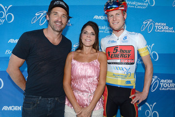 James Stemper Patrick Dempsey Promotes 'Breakaway from Cancer'