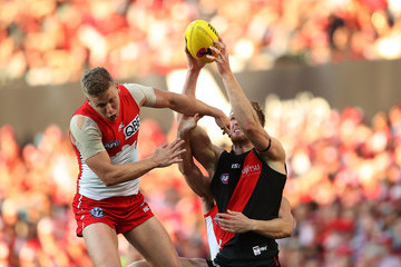 James Stewart AFL Second Elimination Final - Sydney v Essendon