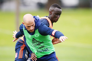 James Troisi Melbourne Victory Training Session