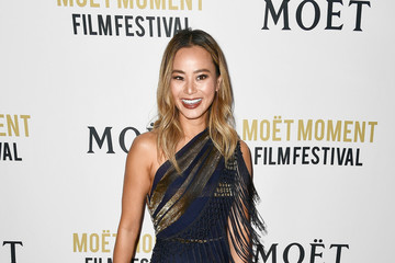 Jamie Chung Moet And Chandon Celebrates 3rd Annual Moet Moment Film Festival And Kick Off Of Golden Globes Week - Arrivals