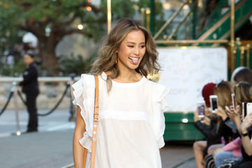 Jamie Chung Rebecca Minkoff's 'See Now, Buy Now' Fashion Show in LA