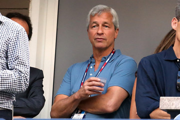 Jamie Dimon 2015 U.S. Open - Day 12