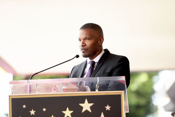 Jamie Foxx Clarence Avant Is Honored With a Star on the Hollywood Walk of Fame