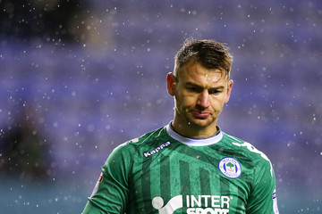 Jamie Jones Wigan Athletic v AFC Bournemouth - The Emirates FA Cup Third Round Replay