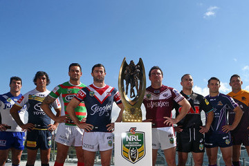 Jamie Lyon 2014 NRL Finals Series Launch