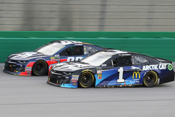 Jamie McMurray Monster Energy NASCAR Cup Series Quaker State 400 Presented By Walmart