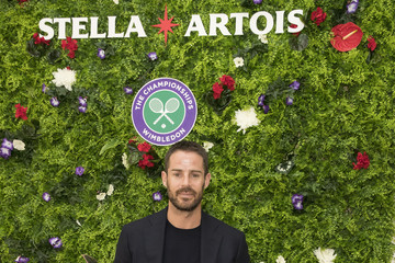 Jamie Redknapp A Day At The Championships With Official Beer Of The Tournament - Stella Artois