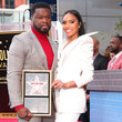 """Jamira Haines Curtis """"50 Cent"""" Jackson Is Honored With A Star On The Hollywood Walk Of Fame"""