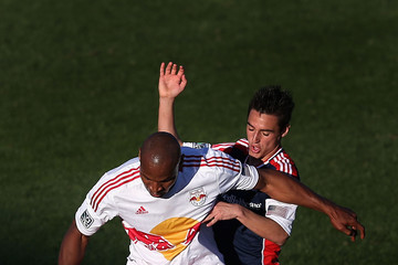 Jamison Olave New York Red Bulls v New England Revolution - FC Tucson Desert Diamond Cup