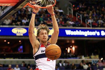 Jan Vesely Los Angeles Clippers v Washington Wizards