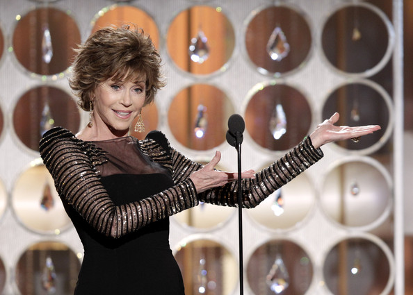 golden globes jane fonda. 68th Annual Golden Globe Awards - Show. In This Photo: Jane Fonda