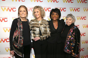 Jane Fonda Gloria Steinem 2018 Women's Media Awards - Arrivals