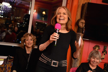 Jane Fonda Gloria Steinem Women in Media Awards Kick Off Party