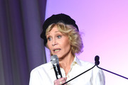 Jane Fonda, GCAPP Founder, Board Chair Emeritus attends the 2018 Georgia Campaign for Adolescent Power & Potential (GCAPP) Youth EmPowerment Summit hosted by Jane Fonda on October 5, 2018 in Atlanta City.