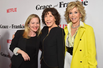 Jane Fonda Jane Wiseman Premiere Of Netflix's 'Grace And Frankie' - Red Carpet