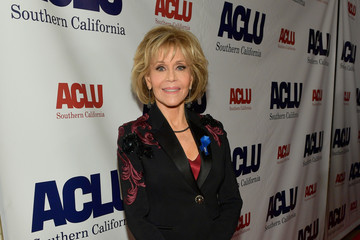 Jane Fonda ACLU SoCal Hosts Annual Bill of Rights Dinner - Red Carpet