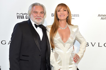Jane Seymour David Green 26th Annual Elton John AIDS Foundation's Academy Awards Viewing Party - Arrivals